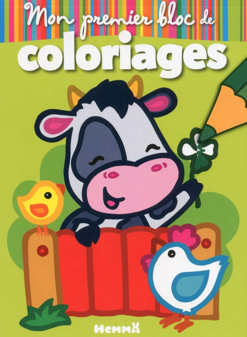 Mon Premier Bloc De Coloriages Animaux De La Ferme French