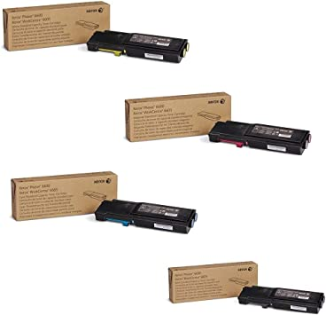 Xerox 106R02228 Phaser 6600 WorkCentre 6605 Toner Cartridge Black in Retail Packaging