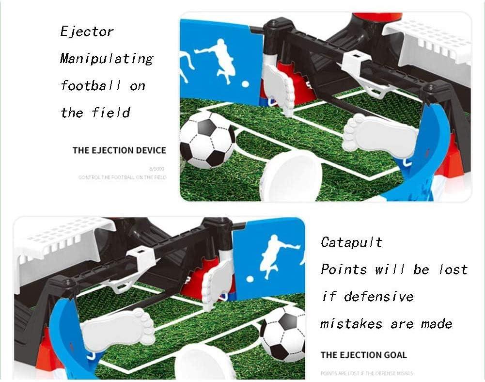 ADHW Estilo de Tabla Eyección Futbolín Juego de Mesa Baby Foot Infantil para Niños Fútbolista Deporte Patada de Mesa Mesa de Fútbol Futbolín Mini: Amazon.es: Hogar