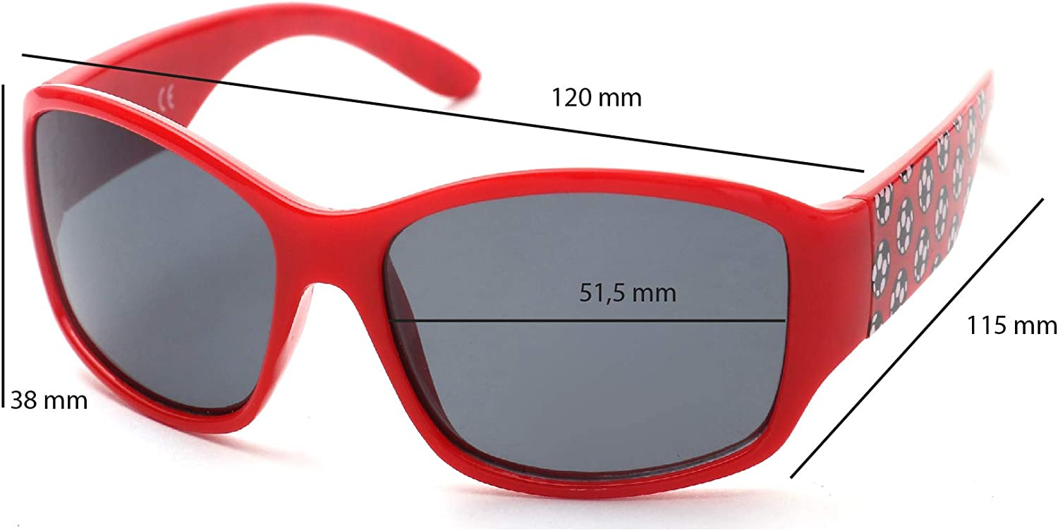 Impact resistant Comfortable and Secure From 6 years old 100/% UV protection KIDDUS Sunglasses for Kids Boy Girl Children Toddler
