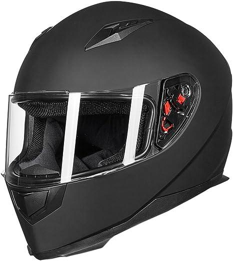 Amazon.com: ILM - Casco integral para motocicleta con ...