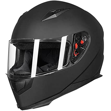 amazon com ilm full face motorcycle street bike helmet with