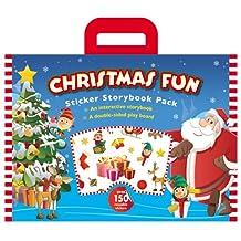 Christmas Fun Sticker Storybook Pack