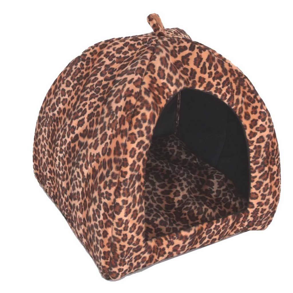 A XL5051cmZXCC Kennel Warm Pet Nest Cat House Dog House (color   D, Size   XL50  51cm)