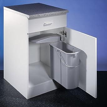 Wesco 700411-85 Einbau Abfallsammler flach Abfalleimer Müll-Eimer Küche