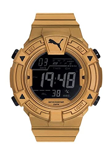 Puma Reloj Digital para Hombre de Cuarzo con Correa en Plástico PU911381005: Amazon.es: Relojes