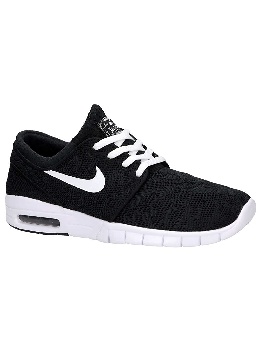 the best attitude 8ac76 455f3 Amazon.com   Nike Men s Stefan Janoski Max Black White Sneakers - 6.5 D(M)  US   Fashion Sneakers
