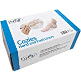 ForPro Cozies Hand And Foot Liners, 500 Count