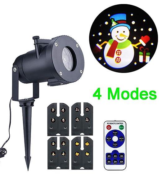 Navidad Proyector Luz, Navidad Tema 4 Diferentes Diapositivas Al ...