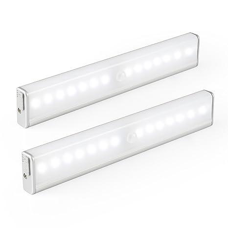 Kohree lámpara LED Cabina recargable Sensor de movimiento luz de noche fuego de emergencia adhesiva inalámbrico