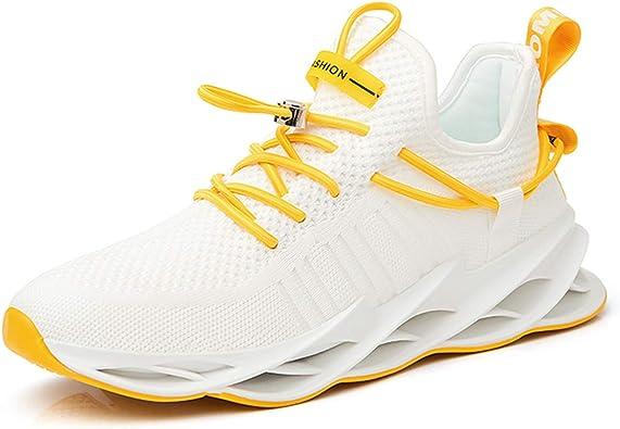 Zapatillas de Deporte Casuales para Hombre Zapatos Deportivos al Aire Libre sin Cordones Zapatillas de Tenis Transpirables Zapatillas Deportivas para Correr: Amazon.es: Zapatos y complementos