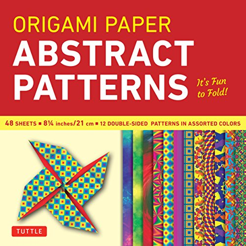 Origami Paper - Abstract Patterns - 8 1/4