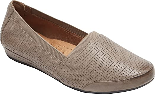 Chancce Women's Grey Multi Loafers US10