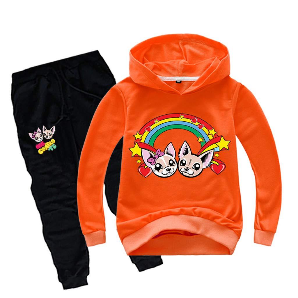 Felpa Me Contro Te Bambina Tuta Sportiva Bambino Unisex Felpe con Cappuccio e Pantaloni Maglia Bambini e Ragazzi Style 7 Merchandising Film e TV