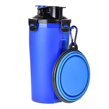 DAN Dispensador De Agua del Perro De La Botella De Agua del Animal Doméstico del Viaje