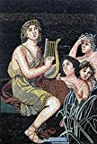 Mozaico - Elegant Figurative and Musical Mosaic Marble and Natural Stones Artwork Design MS066