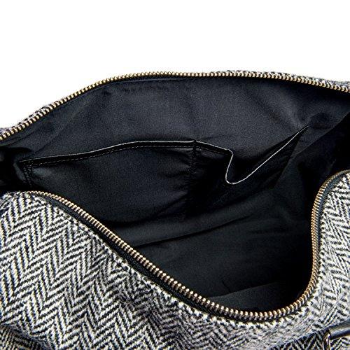Maccessori - Bolso bandolera Mujer Brown Check