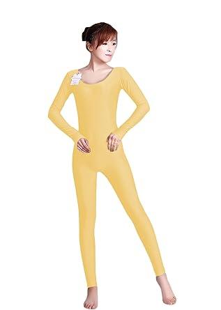 476270857 Amazon.com  WOLF UNITARD Long Sleeve Unitard Bodysuit Dancewear ...