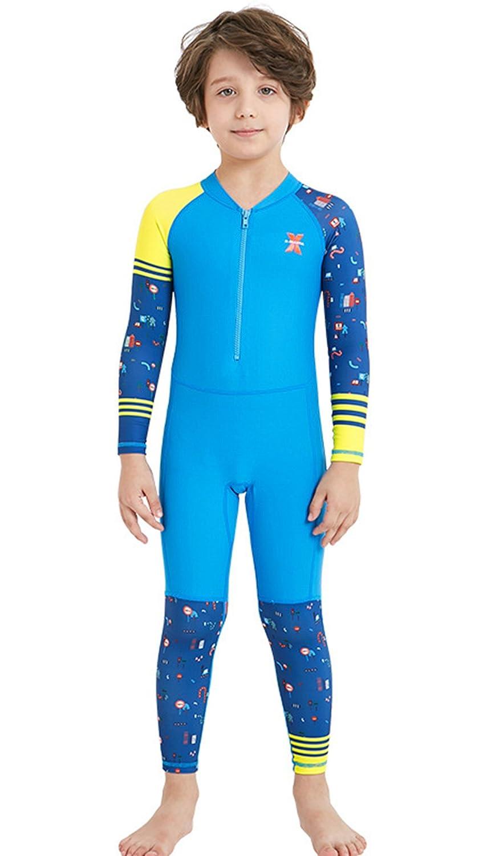La Vogue Kids Wetsuit Surfing Suits Rashguard Swimsuit One Piece