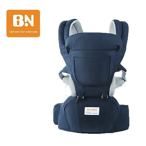 Baby Carrier/Mochila Portabebés Ergonomica con Asiento de Cadera Egornomic Diseñado 11 en 1 Manos