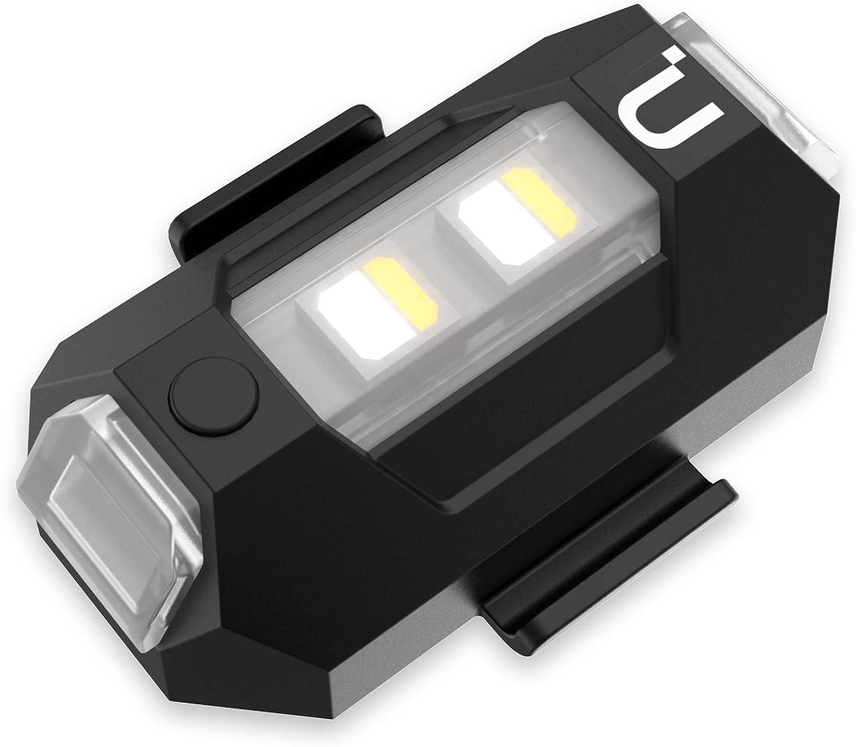 Mavic Air 2//Mavic Mini//Mavic Pro//Spark//Mavic Air 1//Mavic 2 Pro Zoom Phantom 3 4 and Other Drone Accessories Pinhaijing Universal Drone Night Flight Strobe Light for DJI