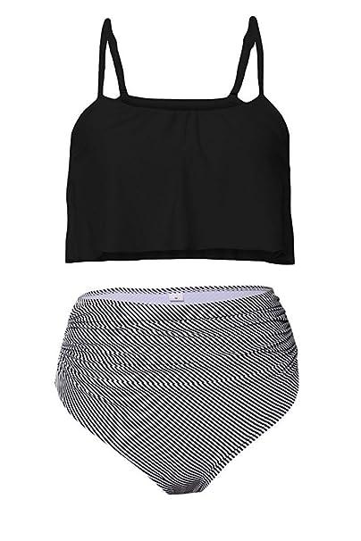 high waist bikini dk