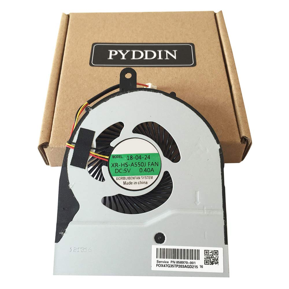 PYDDIN Laptop CPU Cooling Fan Cooler for Dell Inspiron 5458 5459 5558 5559 5755 5758 Vostro 3458 3558