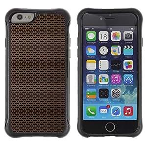 LASTONE PHONE CASE / Suave Silicona Caso Carcasa de Caucho Funda para Apple Iphone 6 PLUS 5.5 / Texture Simple