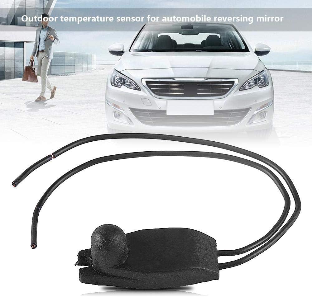 Air Temperature Sensor,Car Outdoor Outside Transit Rearview Mirror Air Temperature Sensor for 206 207 208 306 307 407