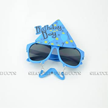 5592dbaa36 Big Yellow Glasses One Size Specs Fancy Costume Novelty Sunglasses Party  Accessories  Amazon.co.uk  Kitchen   Home
