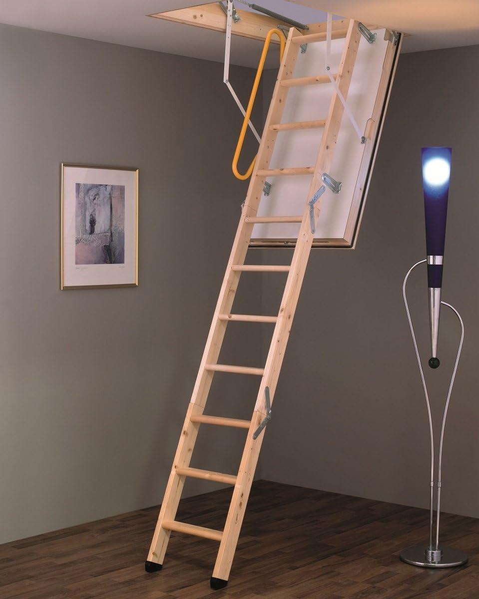 Minka - Escalera de desván con aislamiento térmico Polar Extrem, con accesorios, 4 dimensiones, con valor U de 0,59, hermeticidad de clase 4: Amazon.es: Bricolaje y herramientas