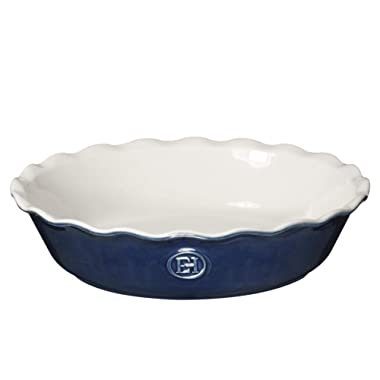 Emile Henry Made In France HR Modern Classics Pie Dish, 9 , Blue