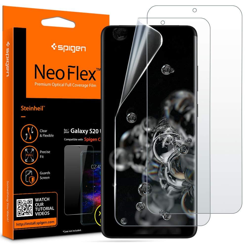 2 Films Para Samsung S20 Ultra Spigen Neoflex