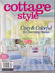 Cottage style magazine spring summer 2017 books for Spring cottage magazine
