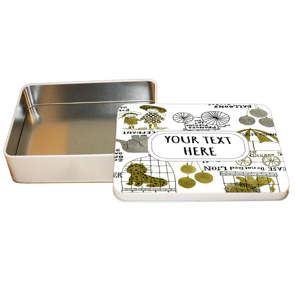 Amazon.com: Style In Print Aluminum Metal Tin Custom Cartoon ...
