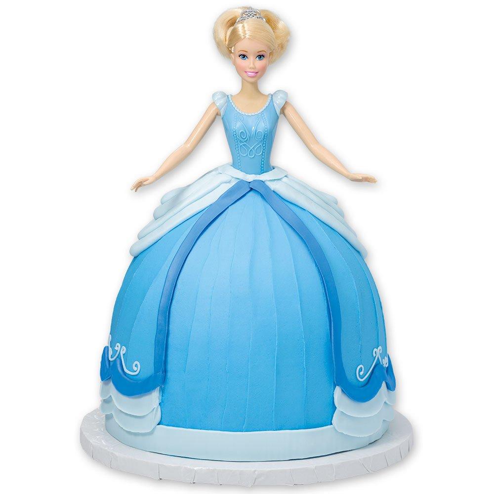 DecoPac Disney Princess Doll Signature Cake DecoSet Cake Topper, Cinderella, 11'' by DecoPac (Image #2)