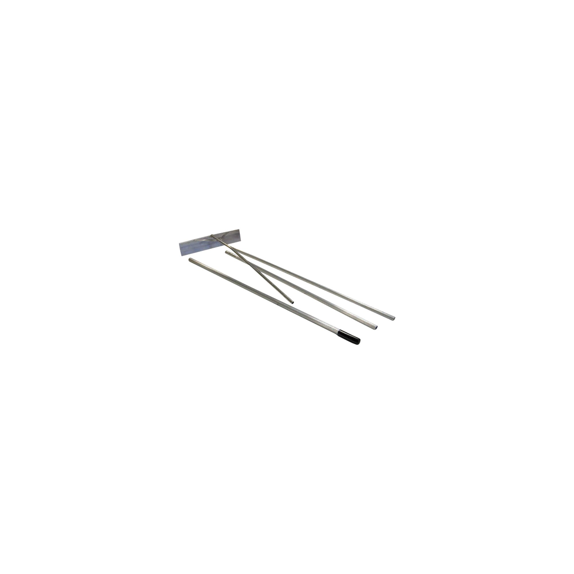 Seymour 96322 24'' Snow Roof Rake, 16' 4-Section Extendable Handle with Vinyl Grip
