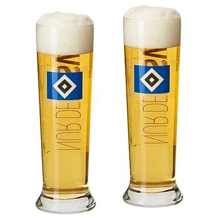 Bierkrug Bierglas Glas Hamburger SV HSV