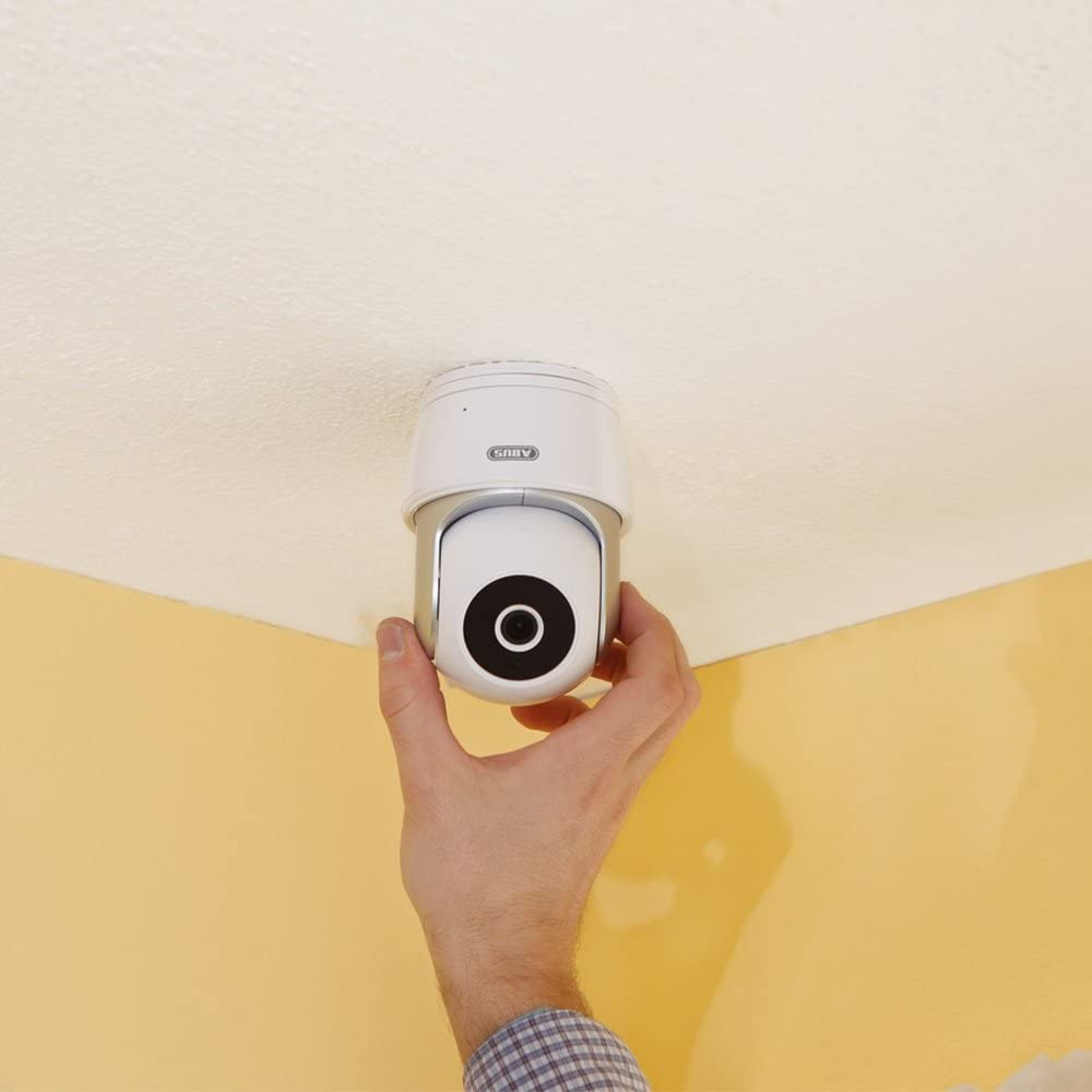 Abus Überwachungskamera Für Den Innenraum Schwenk Und Neige Kamera Wlan Infrarot Nachtsicht Zugriff Via App Weiß 00357 Baumarkt
