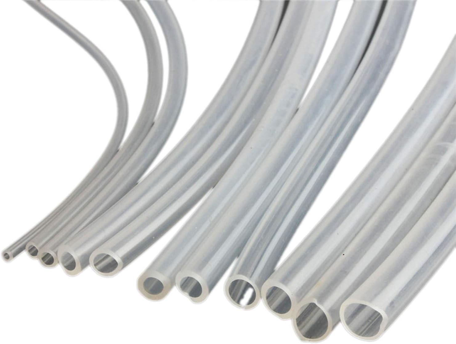 Weiß Silikonschlauch Siliconschlauch Ø2//3//4//5//6//8//10//12~32mm HIGH TEMP 230℃