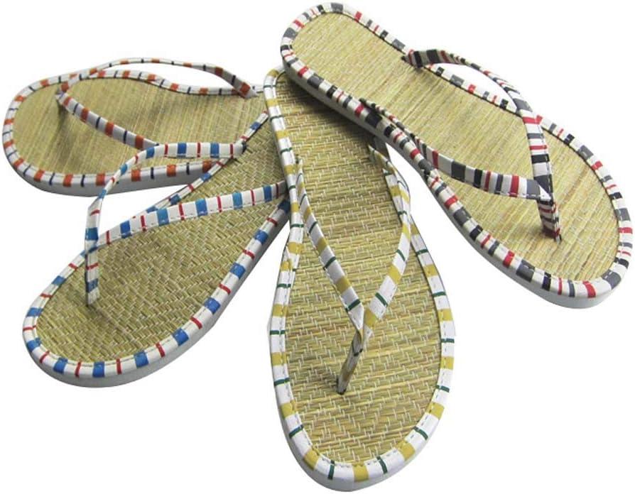 Rotin Creative Flip-Flops Hommes EVA et Femmes Couples de Plage Non-Slip int/érieur Maison