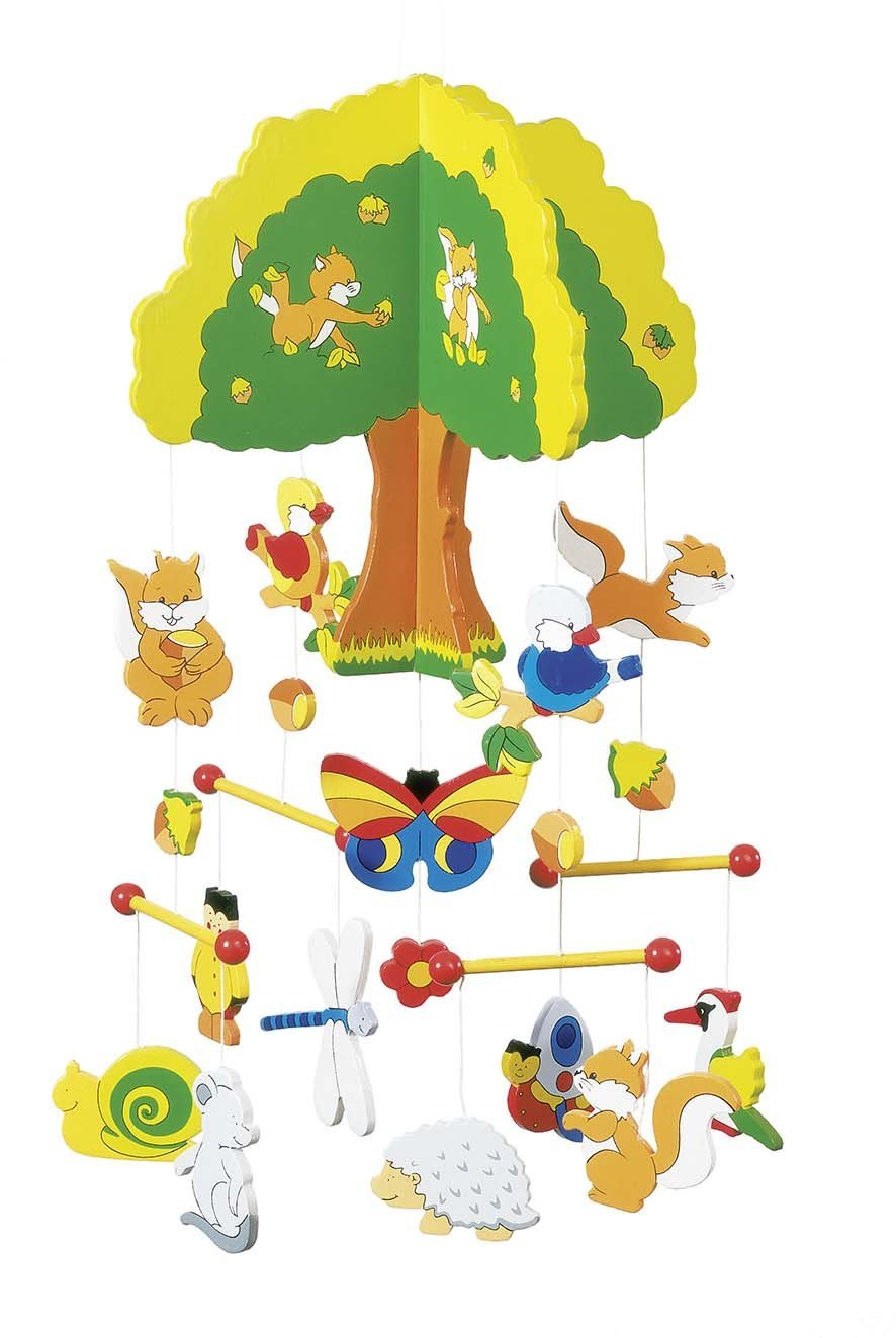 Goki Mobile Treehouse Baby Toy [並行輸入品]   B01MYZCDPZ