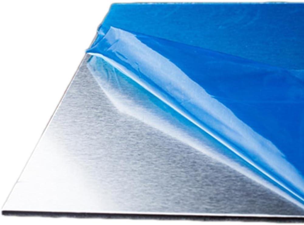 100mm 10pcs New 7075 Aluminum Al Alloy Shiny Polished Plate Sheet 1mm 100mm