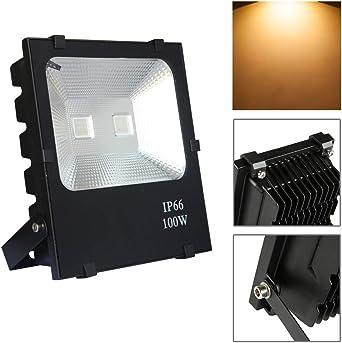 Froadp 100W LED Foco para Exteriores Alto Brillo Proyector ...