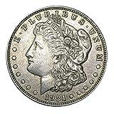 1921 P Morgan Silver Dollar Graded Fine to Extra