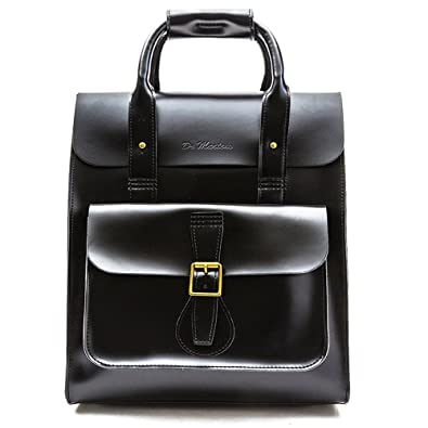b40f26266d4 Dr Martens Leather Backpack Black One Size  Amazon.co.uk  Shoes   Bags