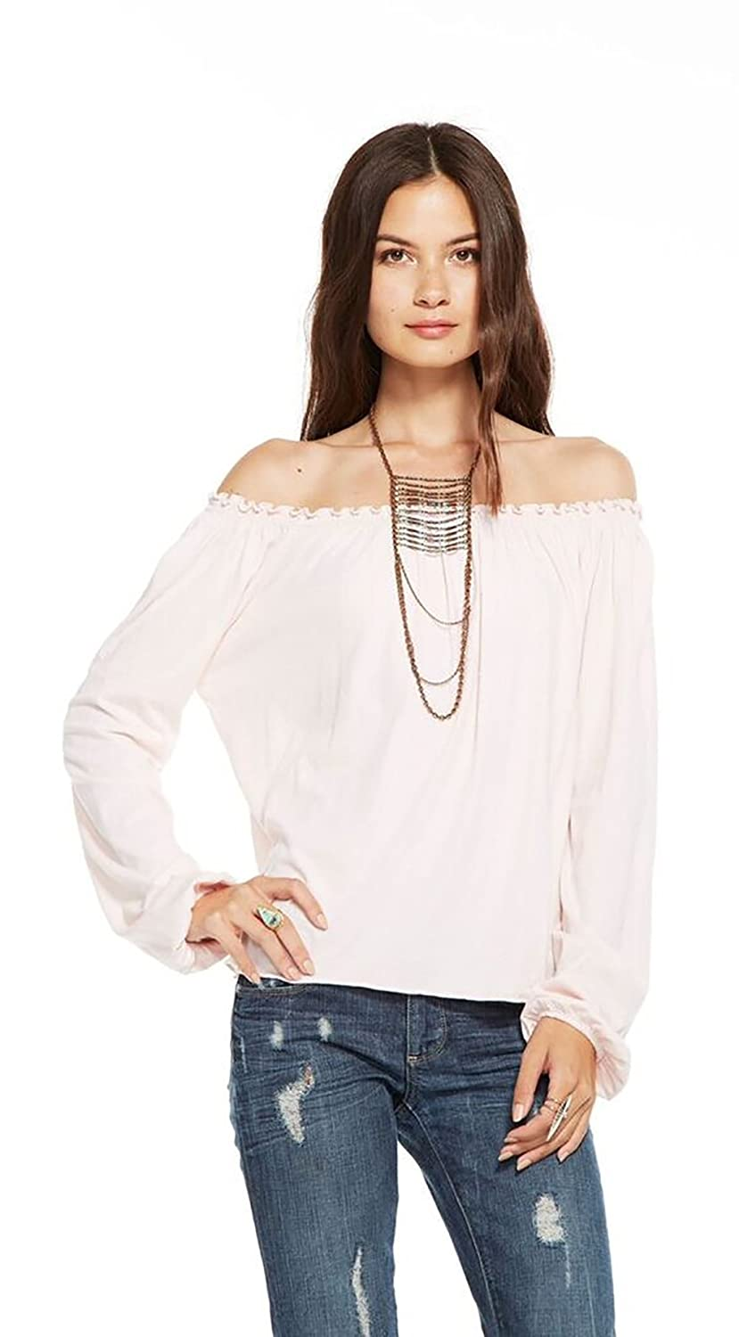 f888c875f80c9 Off the Shoulder Peasant Blouse at Amazon Women s Clothing store