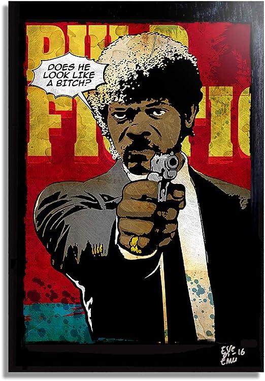 Pulp Fiction Poster Jules Winnfield 1 gratis Ü-Poster