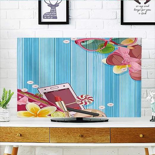 Jiahonghome Protege tu televisor con Cara de Sirena y Pelo ...