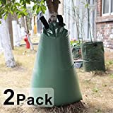 Gardzen 2-pack 15 Gallons Tree-Watering Drip Irrigation Bags, For Newly Planted Trees, Slow Release